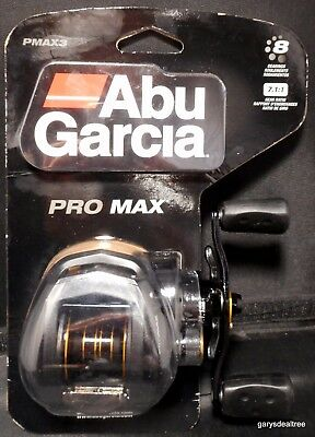 Abu Garcia PMAX3 Pro Max Baitcast Fishing Reel - (7.1:1 Gear Ratio) New
