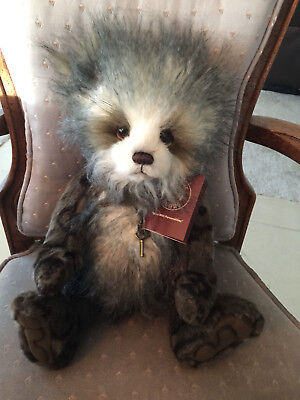 """Keeley * Charlie Bears 2016 Plush  * 15.5"""" New With Tags"""
