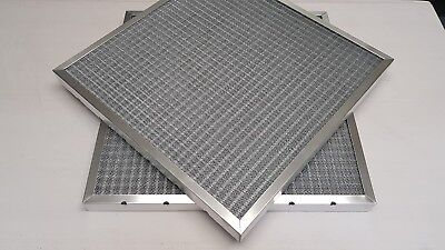 """Kitchen Canopy Grease Mesh Filter Extractor Hood - 24x24x2"""" or 597x597x47mm"""