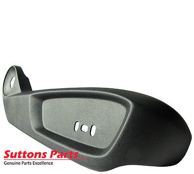 New Genuine Commodore Ve Lower Driver Seat Trim Panel (Onyx) Part 92197753