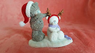 """Me to You Christmas  figurine """"Making Friends""""  NEW"""