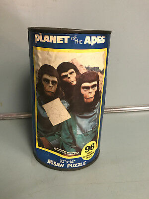 1967 APJAC Planet of the Apes Puzzle Complete