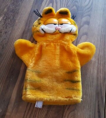 1981 Garfield the Cay Hand Puppet Cute Vintage Collectable