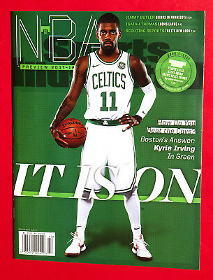 Sports Illustrated Kyrie Irving Boston Celtics Nba Preview 2017 Regional Cover