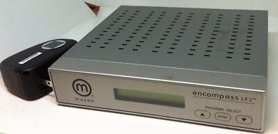 Muzak Encompass LE2 Digital Satellite Receiver for Music On Hold Tested Working