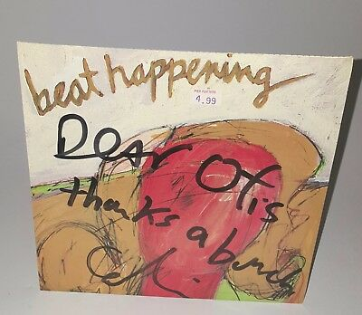 Beat Happening Red Head Walking SIGNED RED VINYL Sub Pop Mudhoney Nirvana SubPop