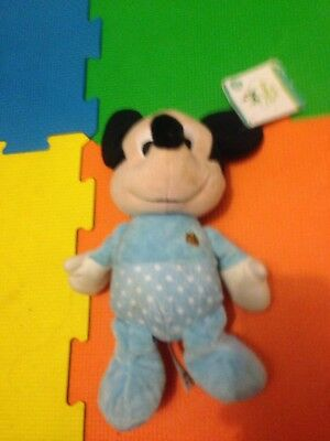 Disney Mickey Mouse Pull Sting Music Tagged Oran / Cot Accessory For Baby's