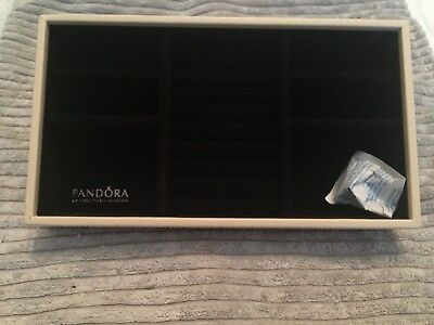 Authentic Pandora Jewellery Display Trays - Holds Rings, Earrings, Necklaces Etc