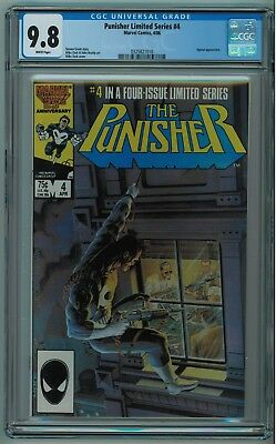 The Punisher Limited Series #4 Cgc 9.8 3Rd Best Cgc Copy White Pages 1986