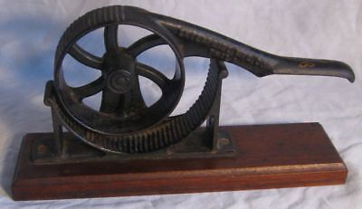 Antique Tool Cork Press Used To Press Corks For Antique Bottles Drug Store?