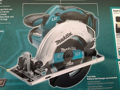 "Brand New MAKITA 18V LXT Li-Ion 6 1/2"" XSS02Z Circular Saw Replaces BSS611Z"