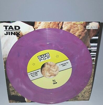TAD Jinx PURPLE VINYL Sub Pop Grunge Nirvana Mudhoney The Fluid Soundgarden Rare
