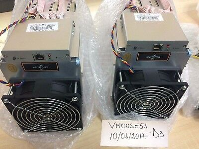 2x NEW Antminer D3 Dash Miner APW3++ PSU Included! October Batch! IN STOCK today
