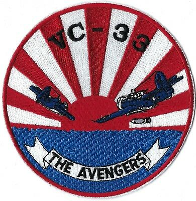 Us Navy Composite Squadron Vc-33 The Avengers Patch