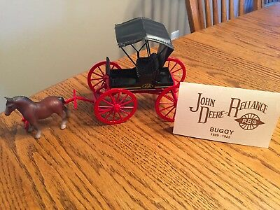 JOHN DEERE Antique Replica Reliance Buggy Collectable