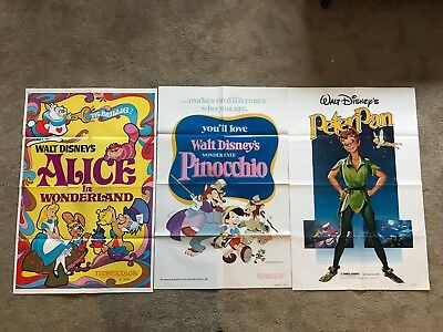 Lot of 3 original vintage 27x41 one sheet movie posters! 1940s - 1980s