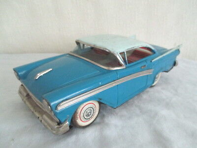 Old TIN FORD TOY CAR *Vintage Japan