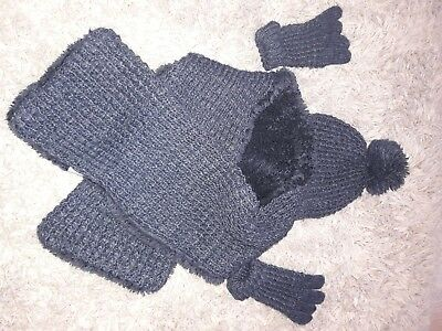 kids set,gloves,hat and scarf