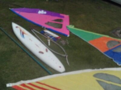Old Skool Ten Cate Windsurfer And Everything You Need For Beginner To Intermedi