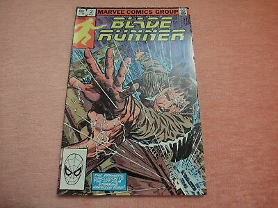 Blade Runner #2 1982. Marvel comic book Al Williamson Archie Goodwin new cond!!