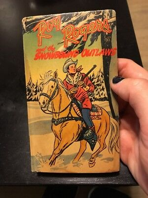 Roy Rogers 1949 New Better Little Book Snowbound Outlaws Vintage