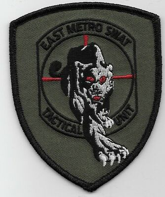 East Metro SWAT SRT Tactical Unit Roseville Minnesota MN Police patch State MN