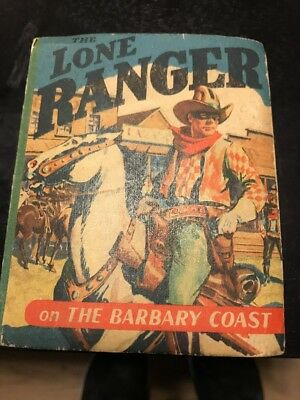 1944 Lone Ranger The Barbary Coast Better Little Book Vintage