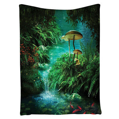 Fantasy House Decor Collection View Wall Hanging Tapestry F6Q3 Z5M5