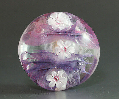 Handmade Lampwork Glass Focal Bead by ikuyoglassart SRA