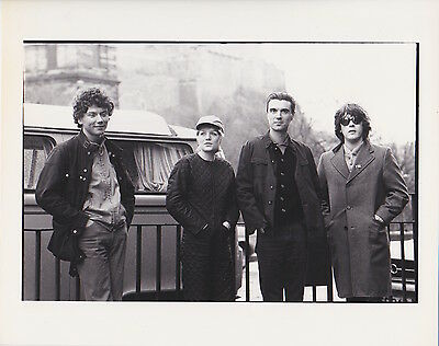 TALKING HEADS Vintage Photograph by JILL FURMANOVSKY frm LONDON FEATURES Archive