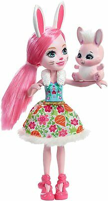 Enchantimals DVH88 Bree Bunny Doll Girls Cute Collectable Doll Toy w/ Bunny