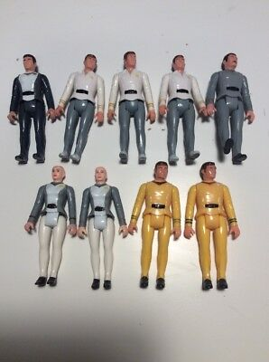 Star Trek Mego Lot Of 9 PPC 3.75 Figures Spock Scotty