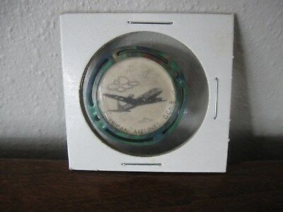 1950's KELLOGGS PEP CEREAL PREMIUM FLICKER TOY AMERICAN AIRLINES DC 6-B