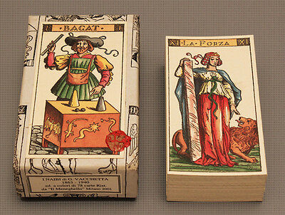 Vacchetta Tarot Card Deck - Repro  Of 1894 Ltd. Ed  *sealed Nib*