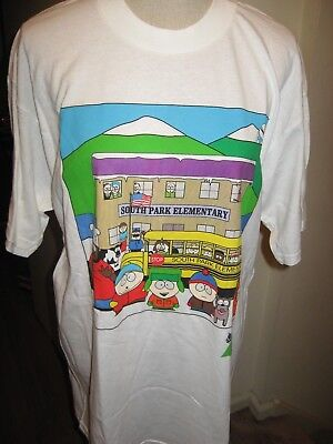 South Park Elementary School Bus T-Shirt Size Large