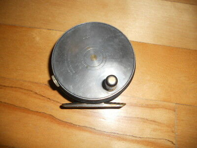 "Vintage Rare Fly Fishing Reel Hardy Perfect Brass Foot ""Nice"" Rod Reel's n Deals"
