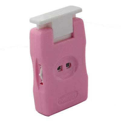 Knitting Row Crocheting Counter Knitting Tool - Pink C8L7 R7I2