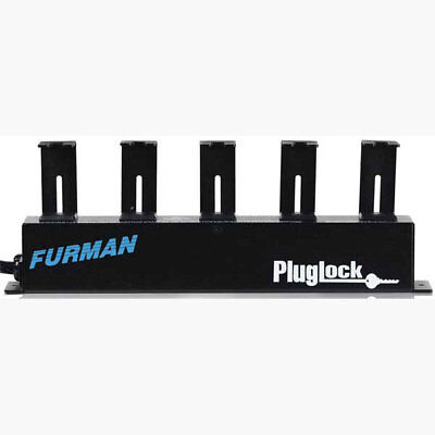 OPEN BOX Furman PlugLock Locking AC Power Strip with 5-outlets & 6 cord