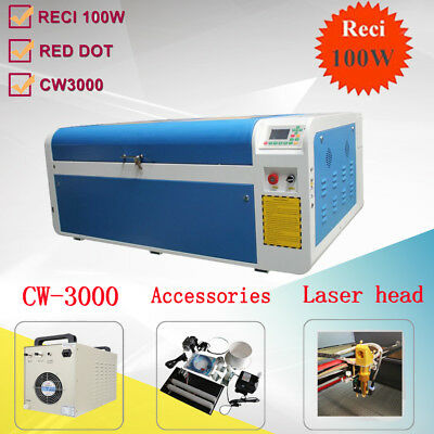 1000x600mm 100W DSP CO2 Laser Engraving Cutting Engraver Cutter Machine USB Port