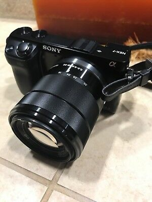 Sony Alpha NEX-7K 24.3MP Digital Camera - Black (Kit w/ E OSS 18-55mm Lens)