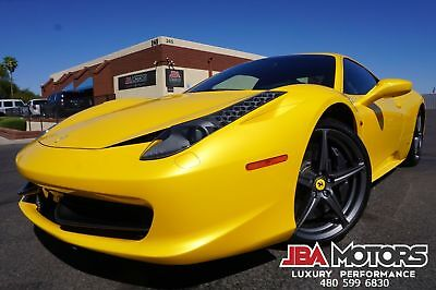 2012 Ferrari 458 2012 Ferrari 458 Italia Coupe Pearl Yellow 2012 Ferrari 458 Italia Coupe Pearl Yellow like 2010 2011 2013 2014 2015 430 488