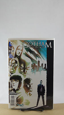 Gotham By Midnight #2 1:25 Ray Fawkes Variant Cover Dc Comics 2014 Batman