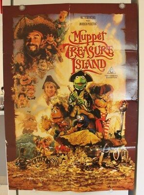 Muppet Treasure Island - Original Movie Poster