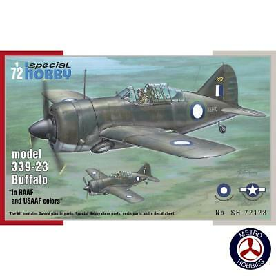 Special Hobby 1/72 Brewster Model 339 RAAF and USAAF Colours 72128 Brand New