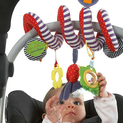 Activity Spiral Crib Stroller Car Seat Travel Hanging Toys Baby Rattles Toy US
