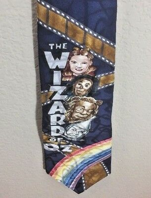 The Wizard Of Oz Over The Rainbow Filmstrip With Cast Tie American Film Classics
