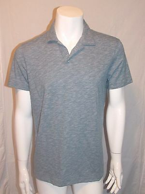 6bc18c3f1 THEORY Willem Polo Cotton Jersey Slub Polo Shirt Color Blue Sz. X-Large NWT