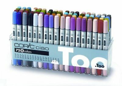 Copic Ciao Markers 72Pc Set-Set B New