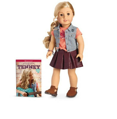 """American Girl Tenney Grant Doll & Book New NRFB 18"""" BRAND NEW-SEALED"""
