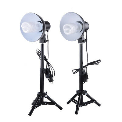 Photography Table Top 2pcs 45W Light Bulb For Soft Box Cube Tent Lighting Kit